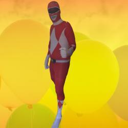 Mini Me Red Power Ranger Replica